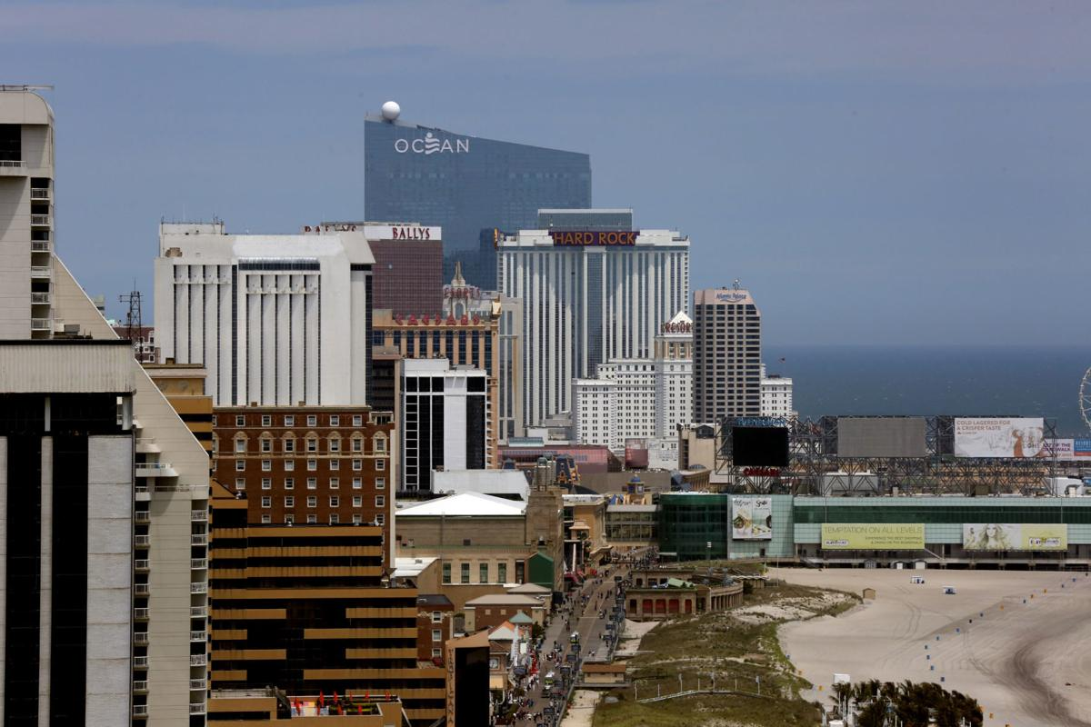 Atlantic City Skyline