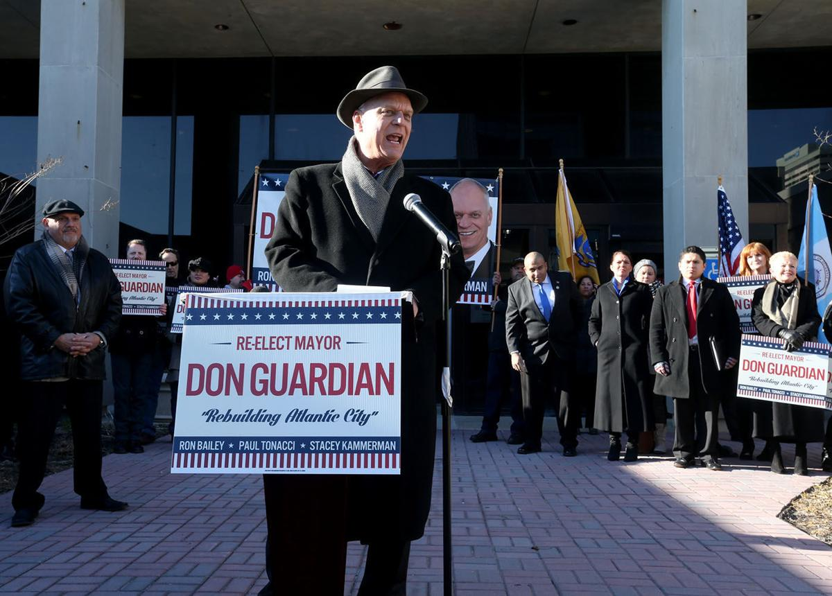 Mayor Don Guardian re-election