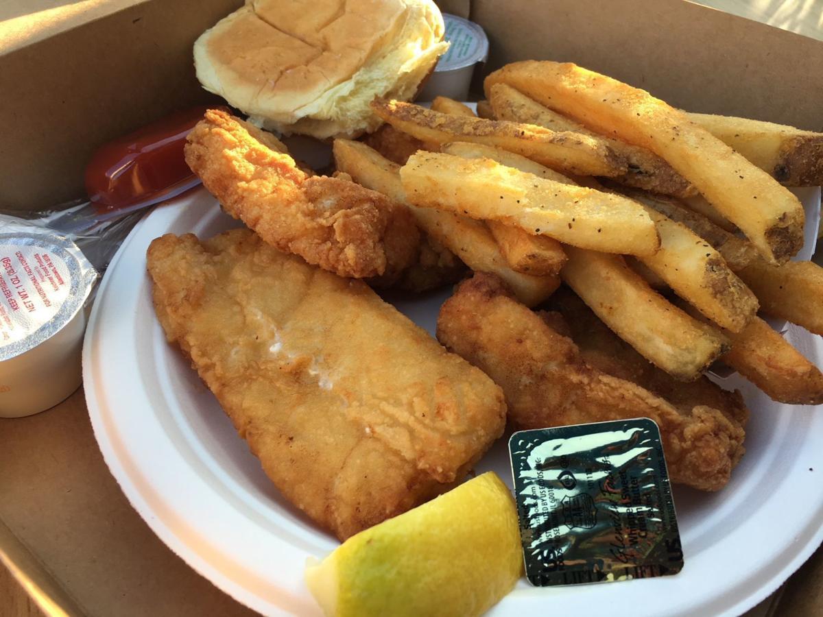 Spadafora fish and chips