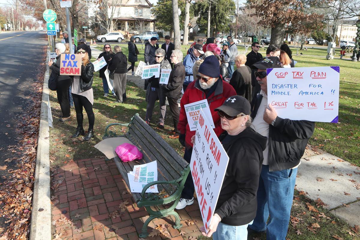 Tax Cut Protest