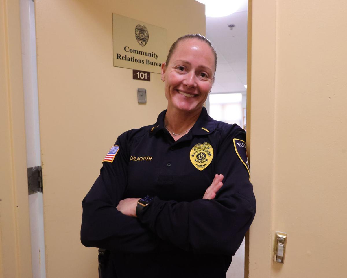 Pville Lt. Stacey Schlachter