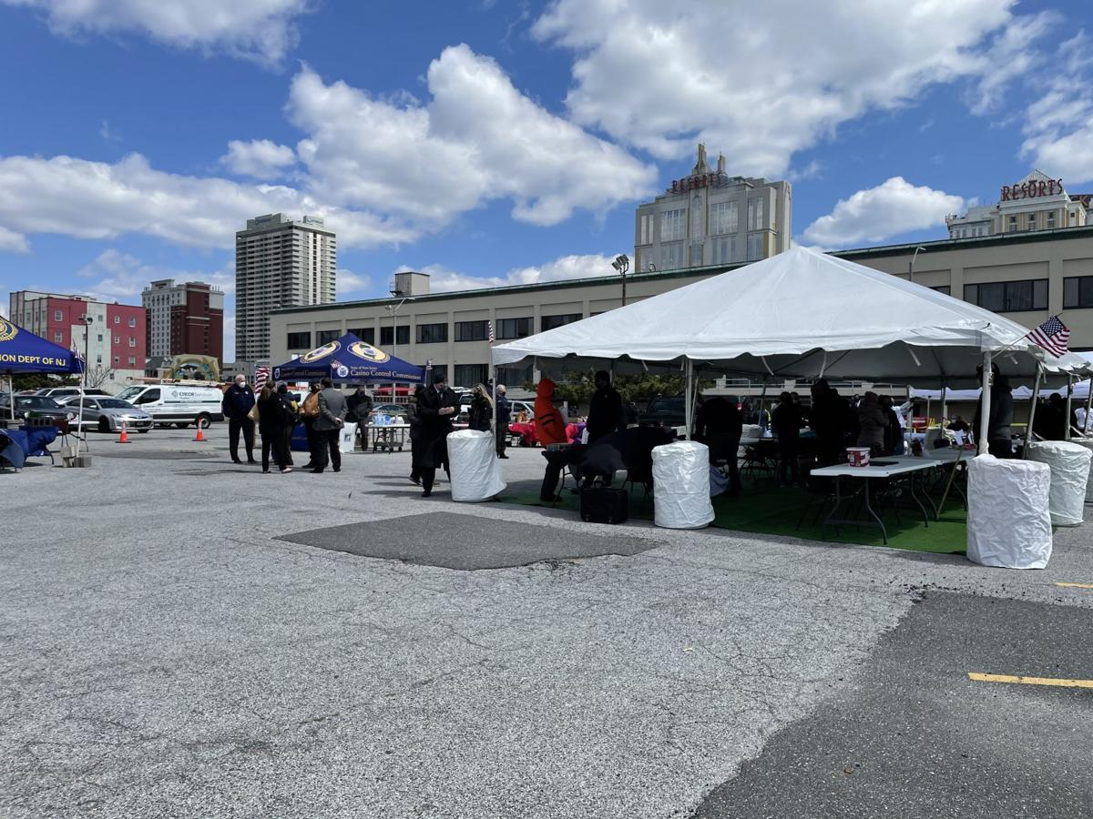 Veterans job fair at the New Jersey Casino Control Commission