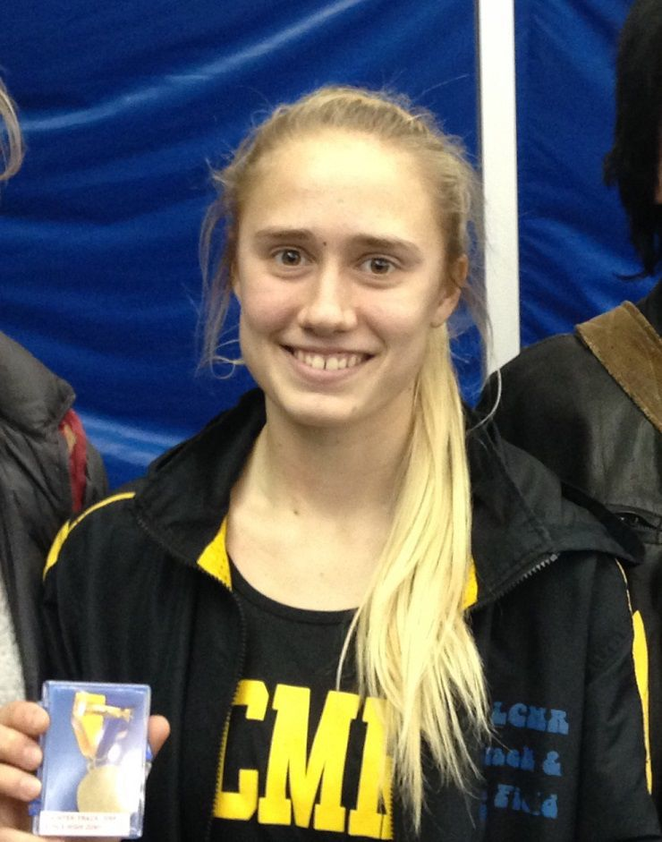 Quinn Bithel, track and field, 2016