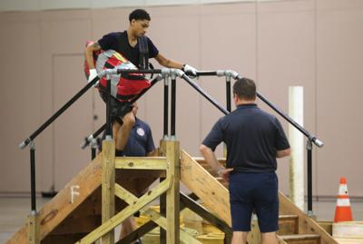 ACFD Firefighters test