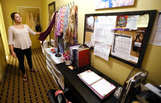 Without Showboat, Stockton takes over a different hotel