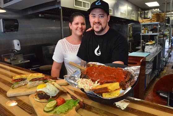 Grilling With CreativityShore Fire Grille adds flair to traditional barbecue