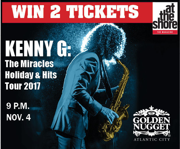 Win 2 tickets to see Kenny G at Golden Nugget