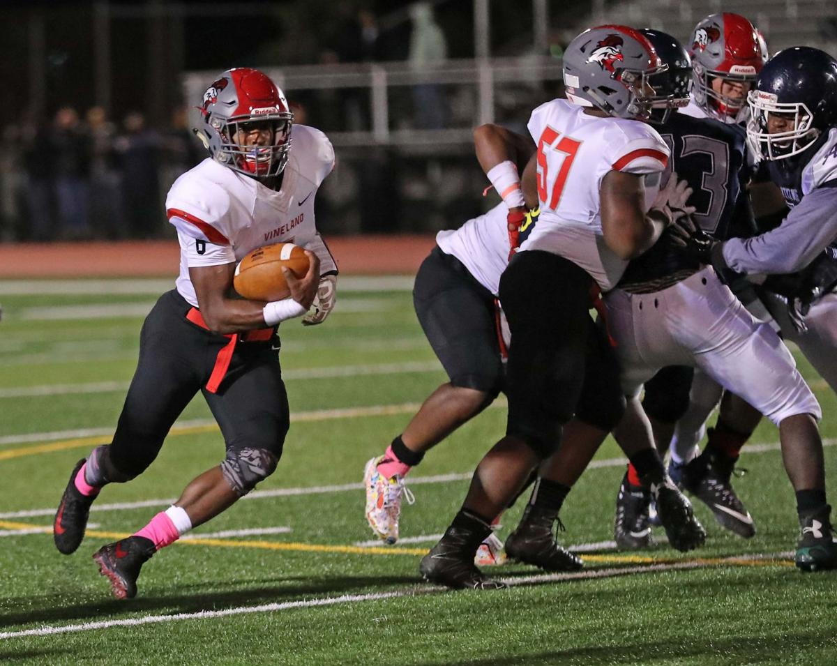 Vineland at Atlantic City football