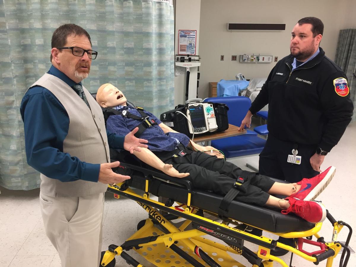 Rick Luderitz and Scott Mensinger discuss Atlantic Cape's paramedic sciences program.