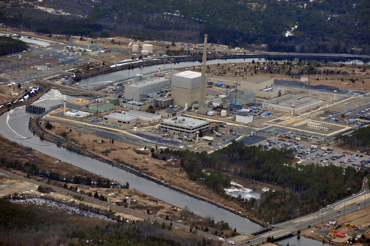 Oyster Creek plant aerial