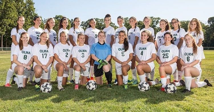 OLMA girls soccer team photo