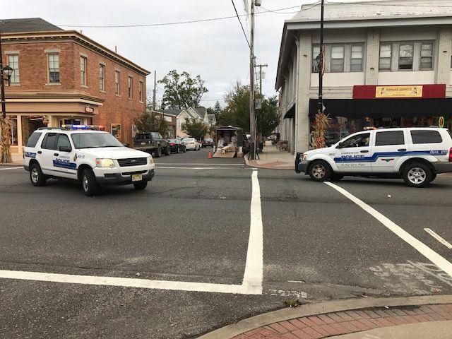 Car and pedestrian crash in Hammonton