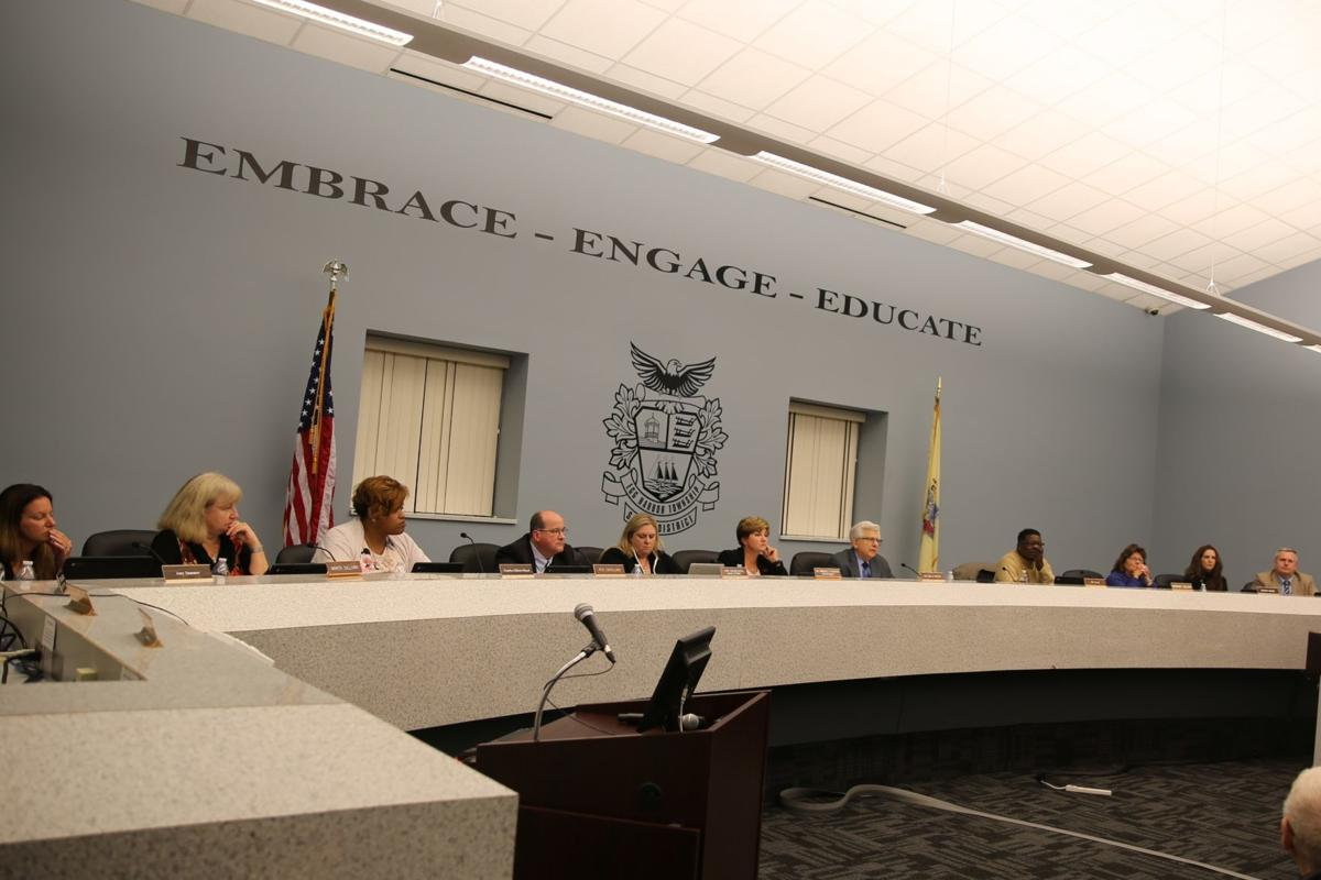 Egg Harbor Township school board on Tuesday approves the first reading of a new policy that addresses the rights of transgender students. Oct. 29, 2019.