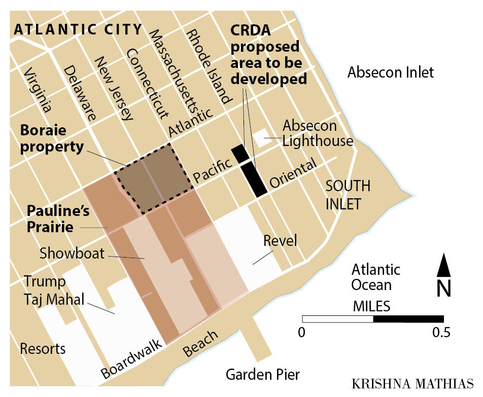 Pauline's Prairie Atlantic City map