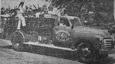 Farmington firetruck history