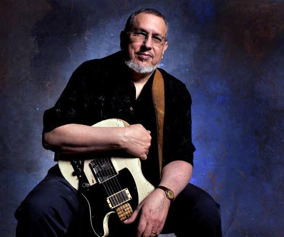 Legendary session guitarist Bromberg strums into Landis