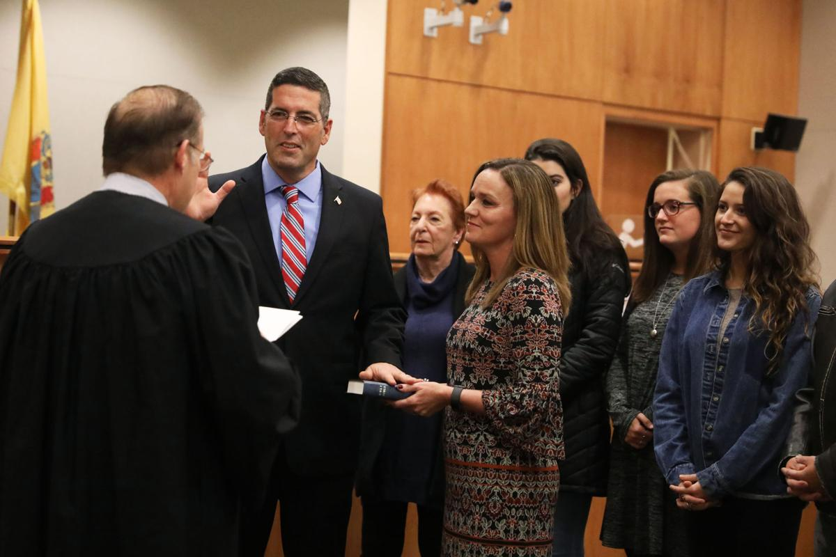 Eric Scheffler sworn in