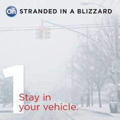 Stranded in a Blizzard: Safety tips