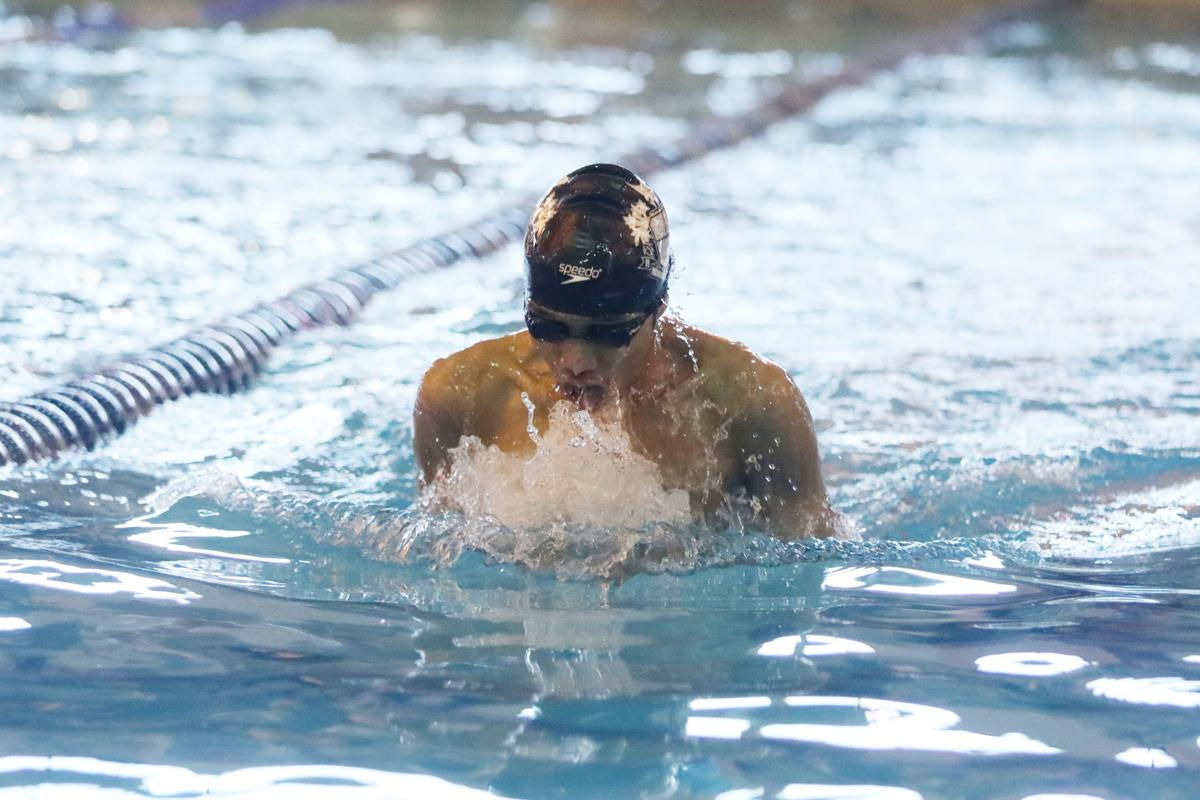 South Group A boys swimming finals