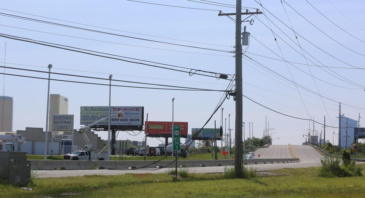 Officials respond to wires down on all lanes of the White Horse Pike.jpg