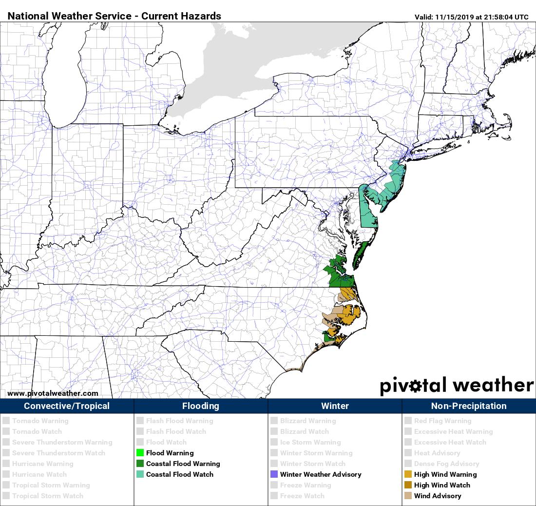 Coastal Flood Watch