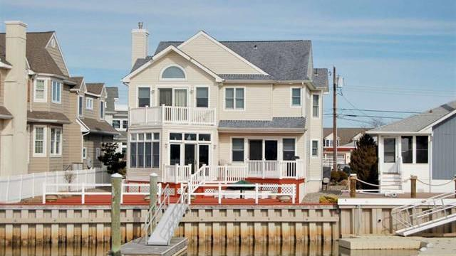 This home sold for $1.35 million in Ocean City