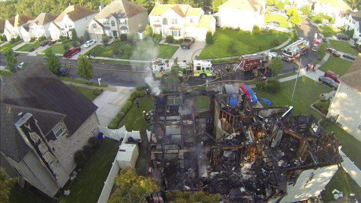 Hamilton Township Fire 1