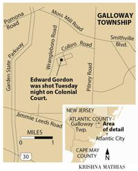 Man shot in chest in Galloway, police search for shooter