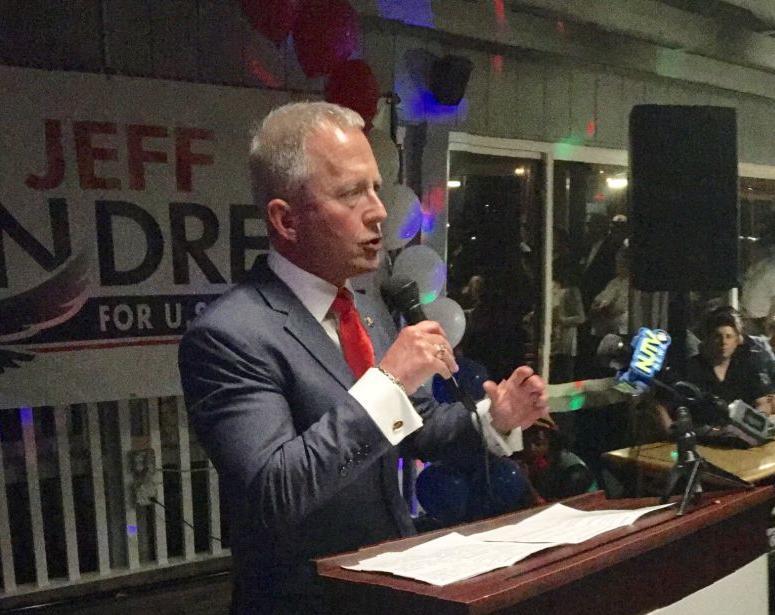 Van Drew victory speech