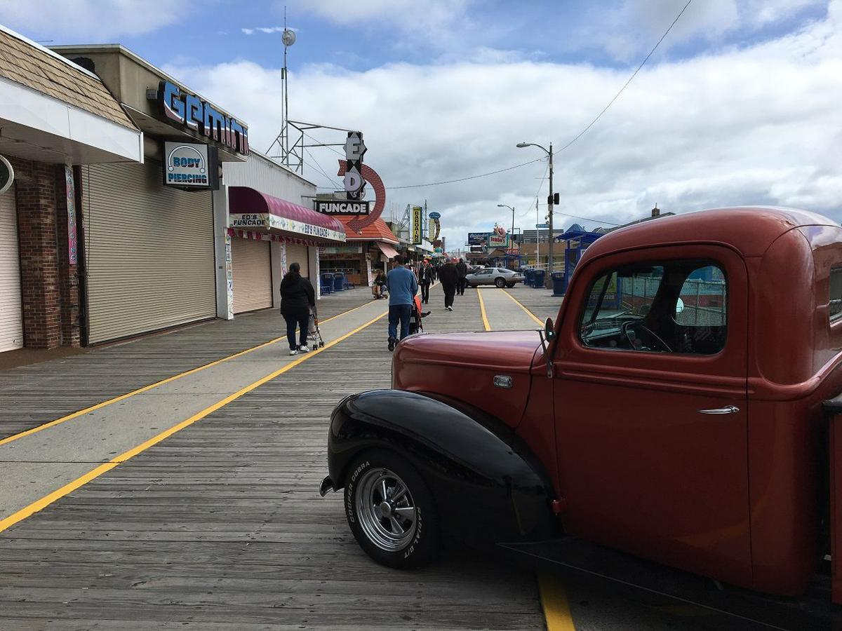 Rain Interrupts Wildwood Classic Car Show News - Wildwood car show