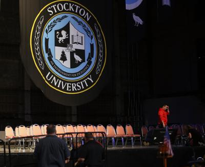 Stockton University graduation prep