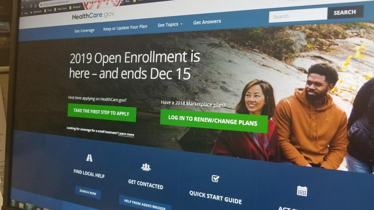 Affordable Care Act 2018 open enrollment