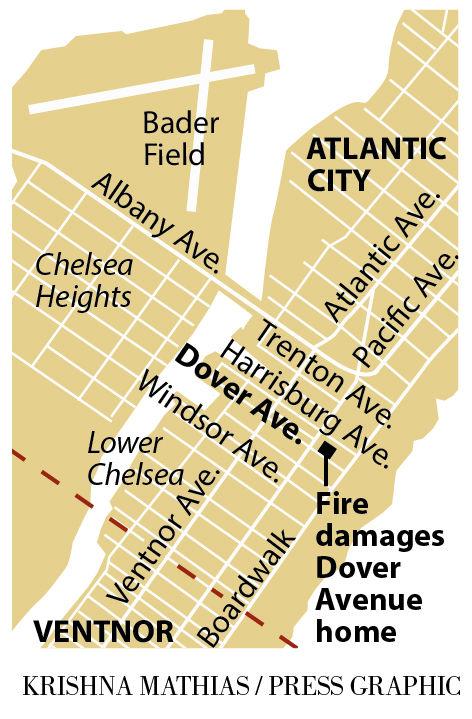 Fire Dover Avenue Atlantic City 9-2016