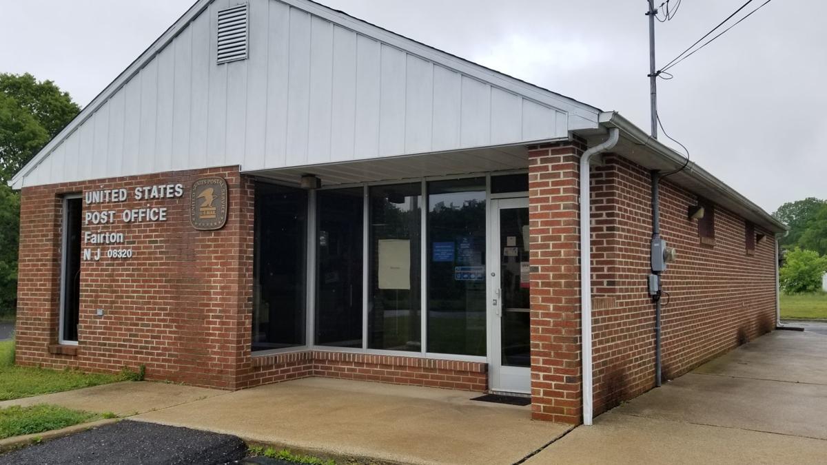 Fairfield Township Post Office Cloudy