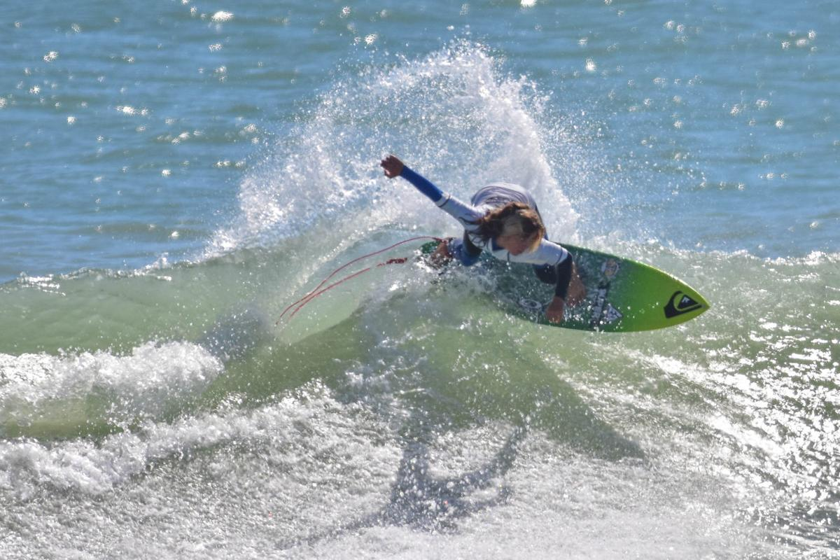 a704618f9f Seamus Carey, a 12-year-old Linwood native, competed in his first World Surf  League contest in Cocoa Beach, Florida, in March.