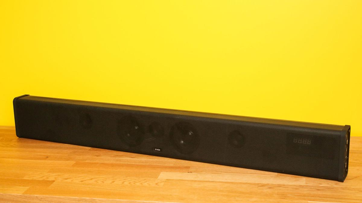 Zvox SB500 offers plenty of bass as well as crisp dialogue without using a subwoofer.