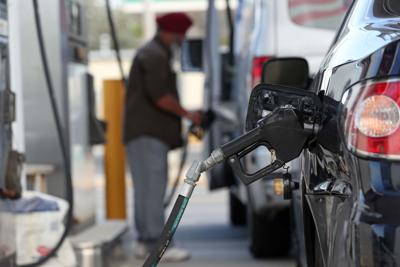 Gas tax goes up