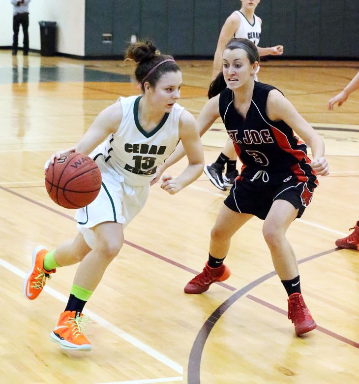 St. Joe at Cedar Creek girls basketball
