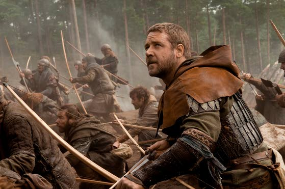 Tops at Redbox: 'Robin Hood,' starring Russell Crowe, takes No. 1