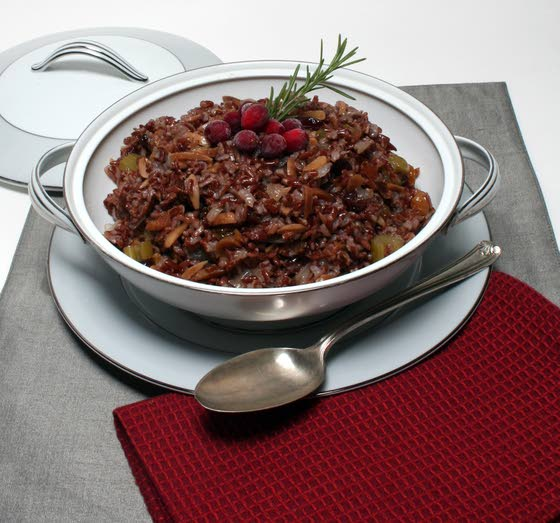 For Thanksgiving, discover red rice stove-top dressing