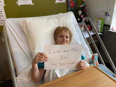 Patient at Hammonton Center