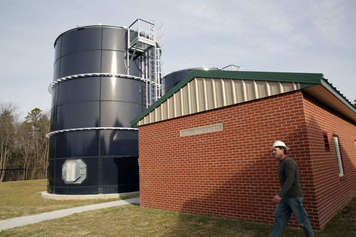 D23 EHC Water Plant