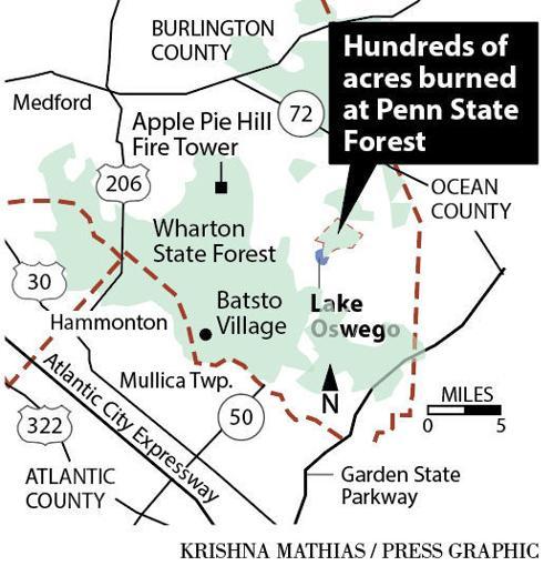 Penn State Forest Fire Map 4 2018 Pressofatlanticcity Com