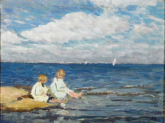 Sand in my Shoes: Art expert's book a collection of forgotten Jersey shore paintings