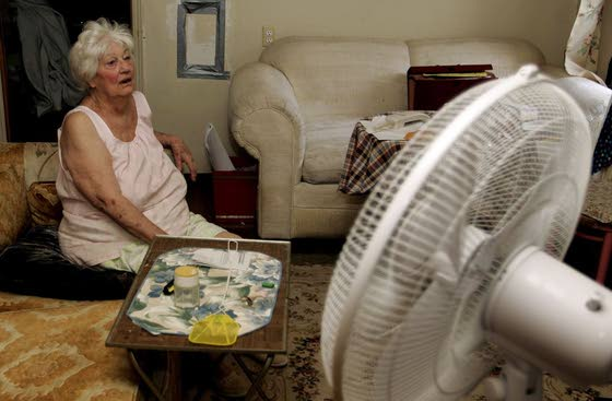 Check on seniors during times of heat wave