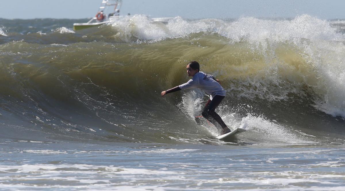 Chip Miller Surfing