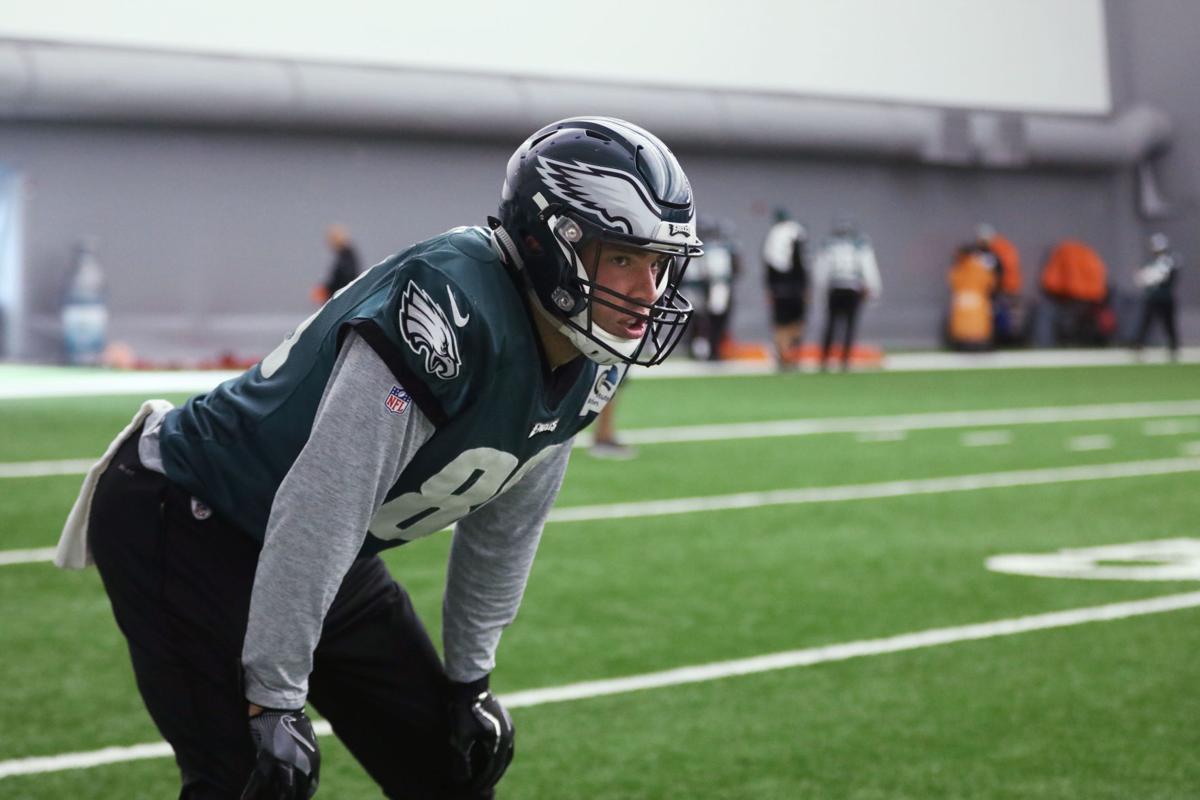 Philadelphia Eagles practice