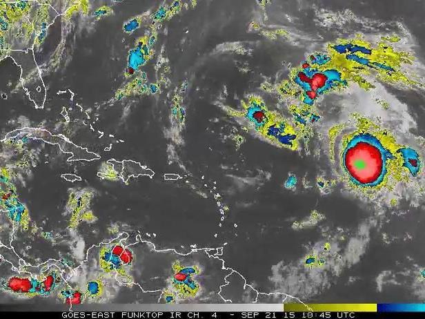 Satellite Loop Of The Tropical Atlantic Ocean News