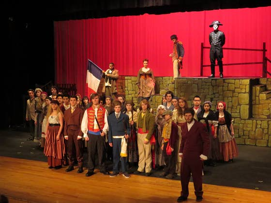 Absegami H.S. prepares to perform 'Les Miserables'