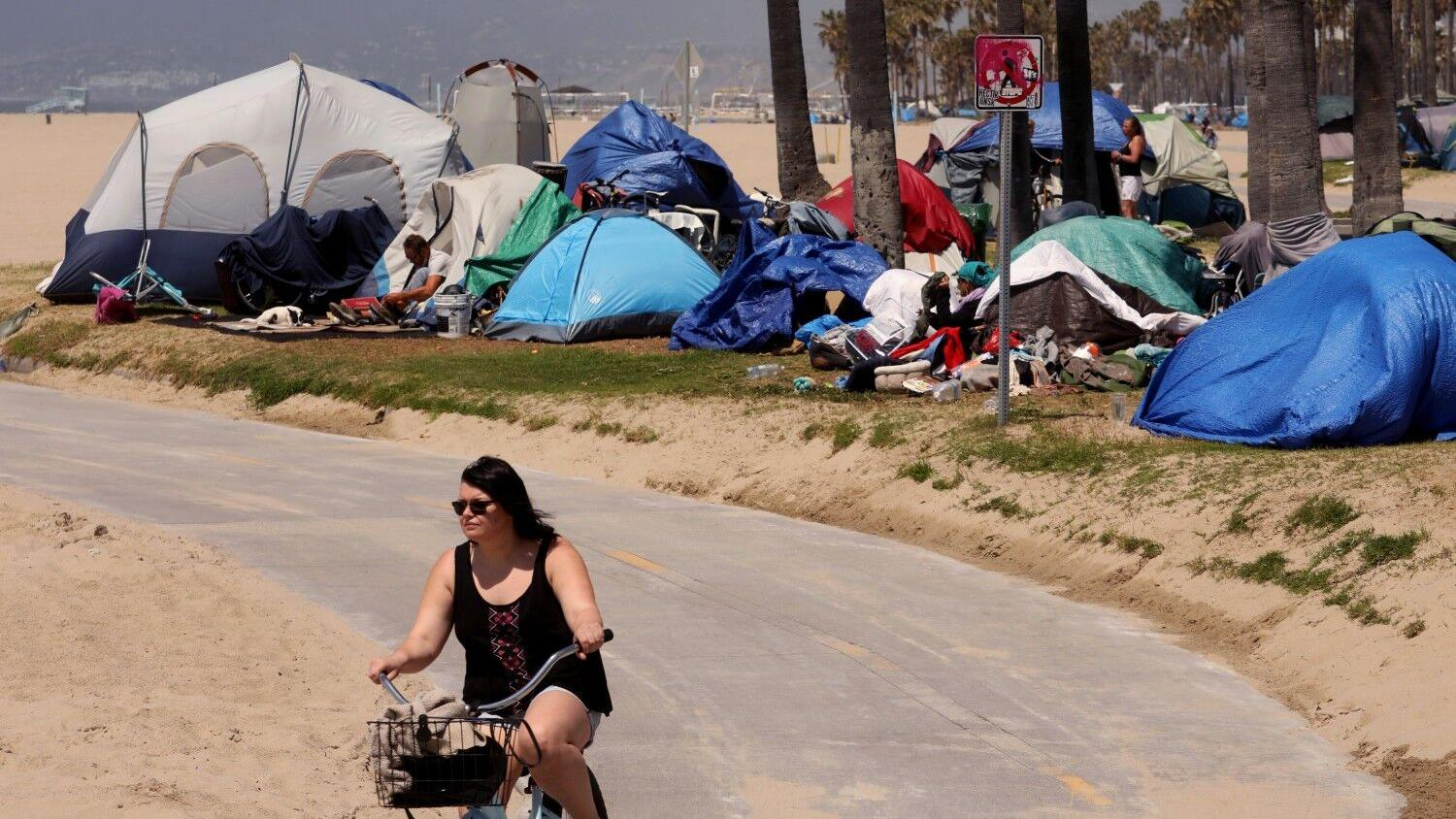 California residents leery of beach apartments for the homeless, by Robin Abcarian